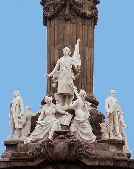 Grupo escultórico héroes de la Independencia